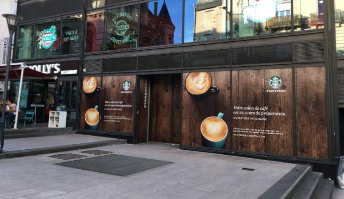 Starbucks débute les recrutements pour son salon à Fleur d'Eau