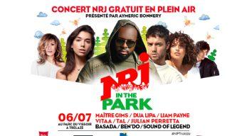 Festival Estival : concert NRJ in the Park ce vendredi soir à Trélazé