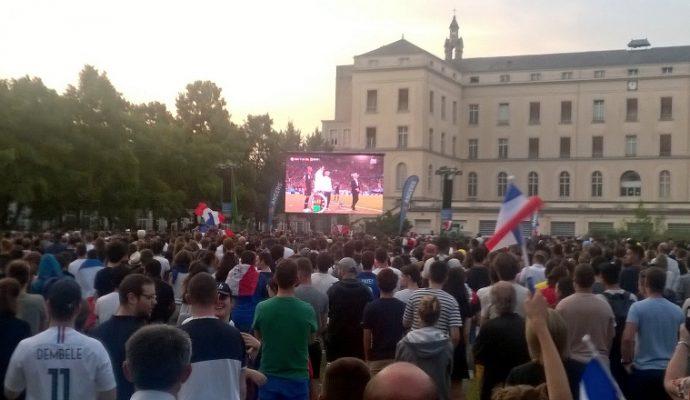 Coupe du Monde de Football : retransmission de la finale sur écran géant le 15 juillet 2018