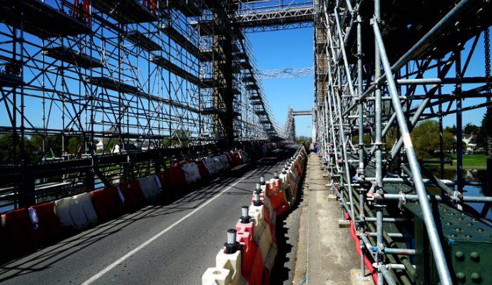 Le pont de Bouchemaine fermé plusieurs nuits