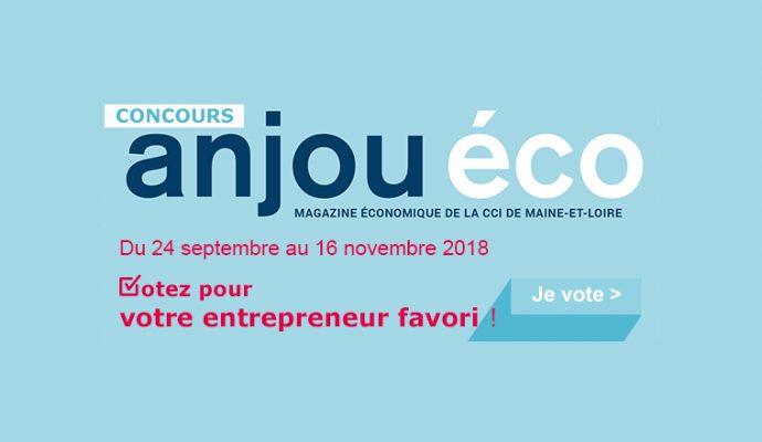 Concours Anjou Eco : Votez pour votre entrepreneur favori