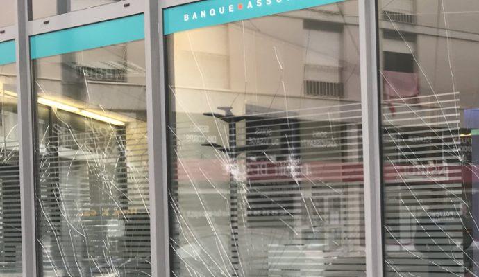 Des dégradations en centre-ville lors de la manifestation antifasciste