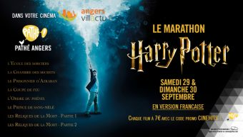 Week-end marathon Harry Potter au cinéma Pathé
