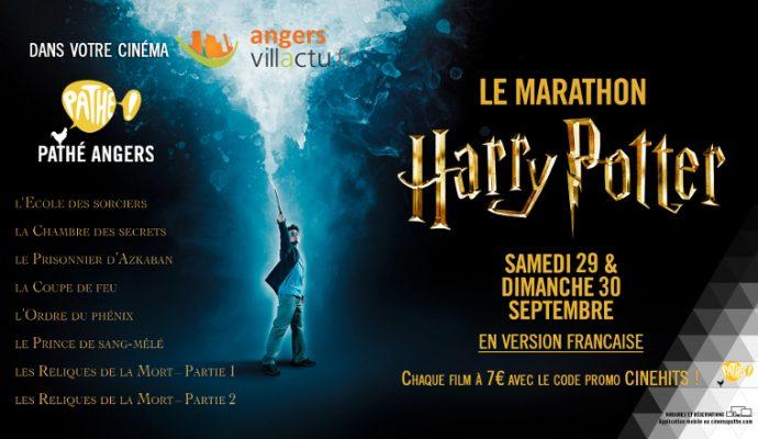 Week-end marathon Harry Potter au cinéma Pathé