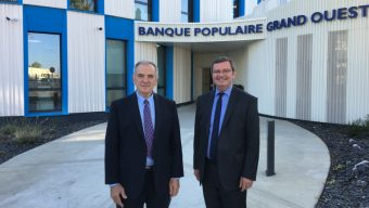 La Banque Populaire Grand Ouest s'installe dans son nouveau site angevin