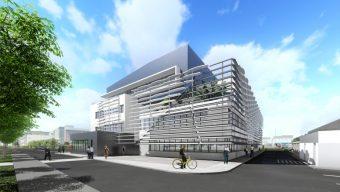 Un nouveau bâtiment pour les consultations sur le site de la Clinique de l'Anjou