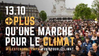 Une marche pour le climat ce samedi à Angers