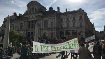 Marche pour le climat : plus d'un millier de personnes à Angers