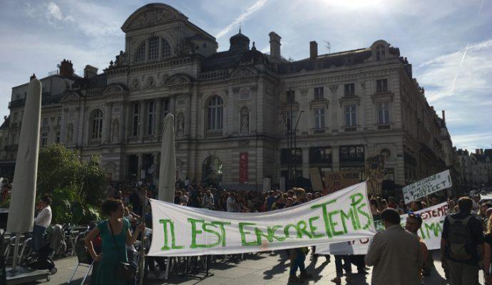 Une manifestation pour le climat demain à Angers