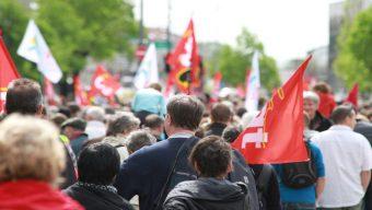 Plus de 2 000 manifestants dans les rues d'Angers pour le 1er mai
