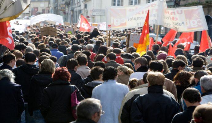 Une manifestation des retraités ce jeudi 18 octobre