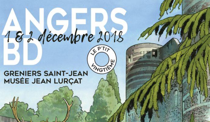 Festival Angers BD les 1er et 2 décembre