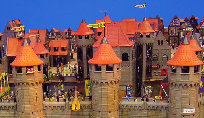 Le château d'Angers en playmobil du 2 décembre 2018 au 6 janvier 2019