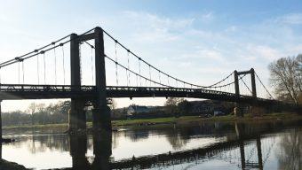 Fin d'une longue période de travaux pour le pont de Bouchemaine