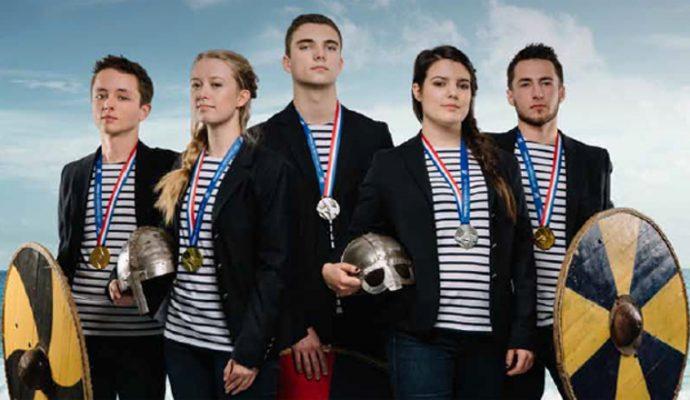 Deux apprentis du Maine-et-Loire médaillés d'argent en finale des Olympiades des métiers