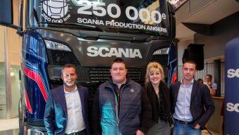 L'usine Scania d'Angers a livré son 250 000e camion