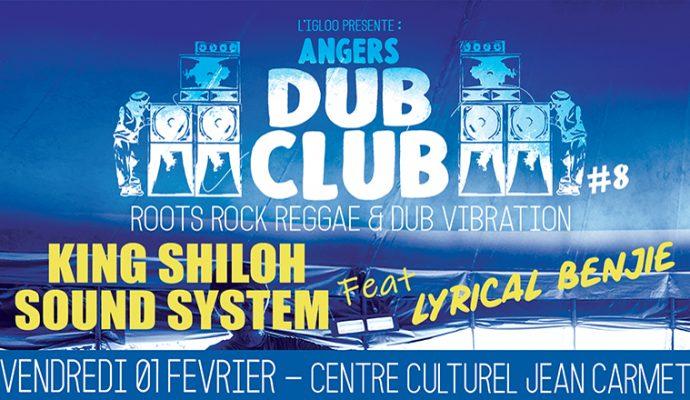 Nouvelle édition d'Angers Dub Club le 1er février