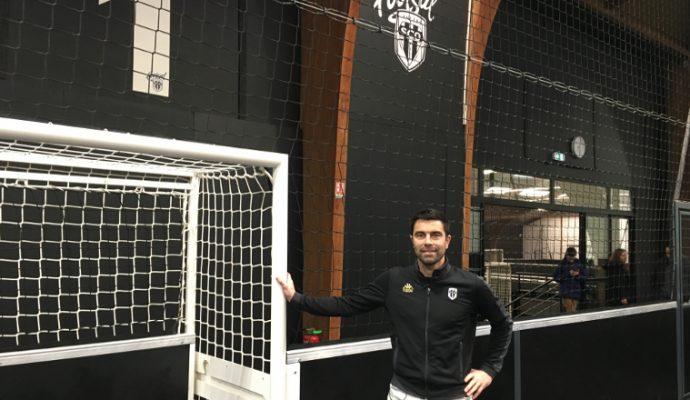 Angers SCO ouvre son complexe de futsal