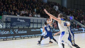Basket : Angers ne montera pas en Pro B