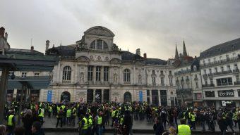 Gilets jaunes : une journée sous tension à Angers