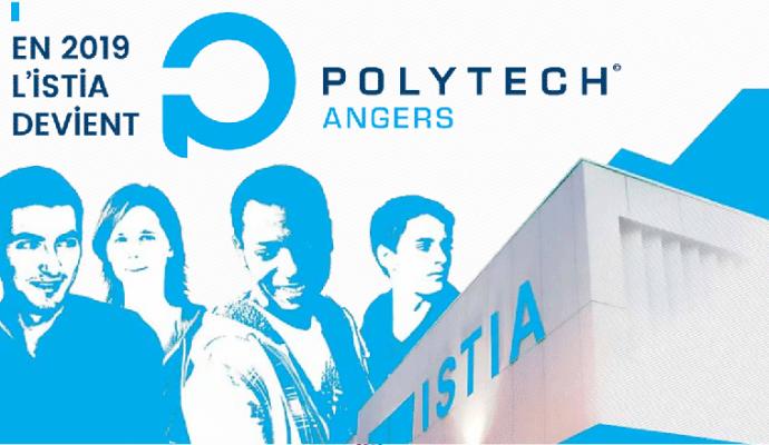 L'ISTIA, école d'ingénieurs de l'Université d'Angers devient Polytech Angers