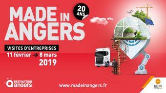 Made in Angers de retour du 11 février au 8 mars