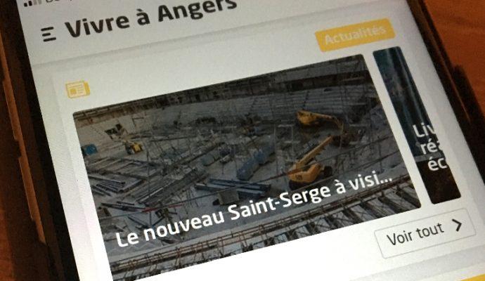 La ville lance son application « Vivre à Angers »