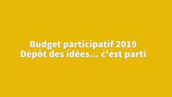 Coup d'envoi de la seconde édition du budget participatif