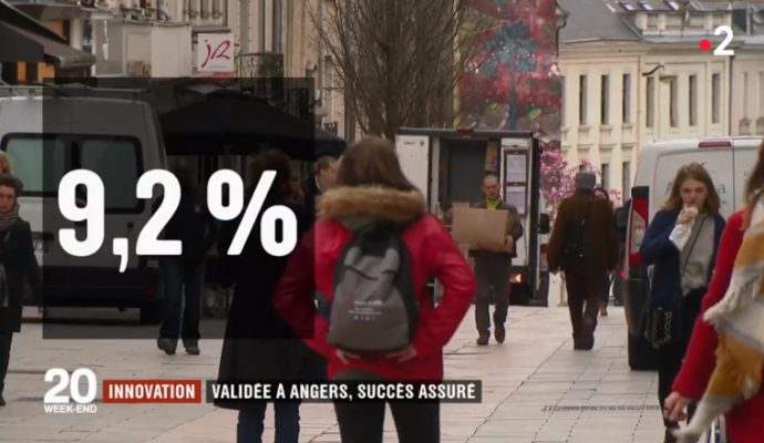Angers, une ville test pour les marques