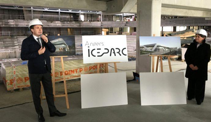 La nouvelle patinoire baptisée «Angers IceParc»