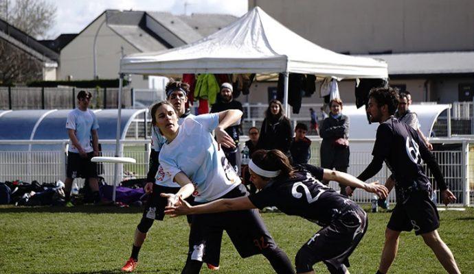 Angers accueille la phase finale du Championnat de France Mixte d'Ultimate Frisbee