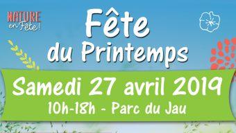 Fête du printemps le 27 avril à Mûrs-Erigné : marché, ateliers, expositions et jeux au programme