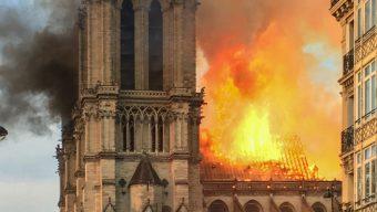 Notre-Dame de Paris : la réaction du maire d'Angers
