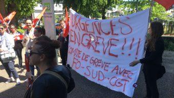 La grève se poursuit aux urgences du CHU d'Angers