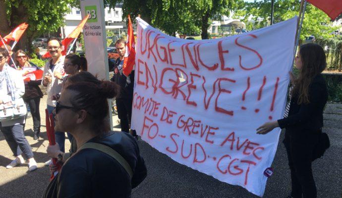 Le mouvement de grève s'étend à plusieurs services au CHU d'Angers