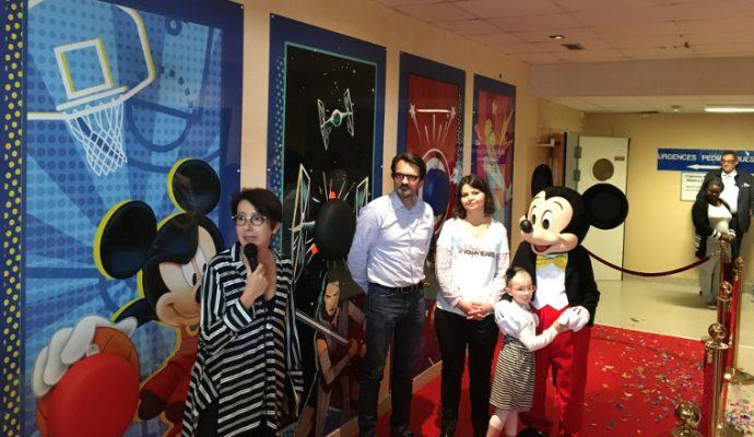 Des équipements sportifs à l'effigie des personnages Disney, Marvel ou Star Wars pour les enfants hospitalisés