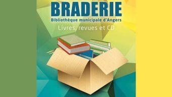 Braderie des bibliothèques d'Angers ce samedi 25 mai