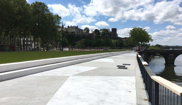 L'esplanade Cœur de Maine et le pont des Arts et Métiers s'ouvrent aux angevins le 29 juin