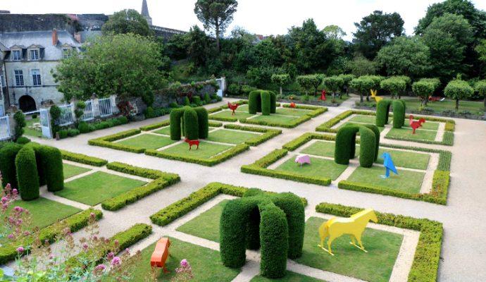 Le Château d'Angers accueille la ménagerie du Roi René jusqu'au 30 septembre