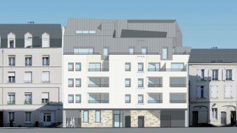 De nouveaux programmes immobiliers en bas du centre-ville