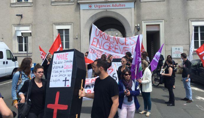 Les grèves se poursuivent au CHU d'Angers