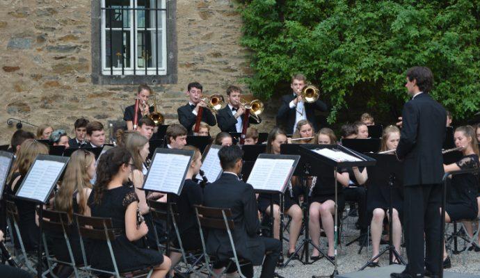Bromley Youth Concert Band en concert à l'Arena Loire jeudi 11 juillet