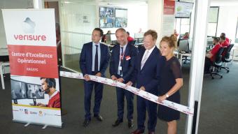 Verisure inaugure son nouveau centre de télésurveillance avec 500 emplois à la clé
