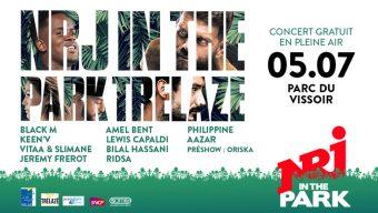NRJ in the Park : de nombreux artistes sur la scène du festival de Trélazé