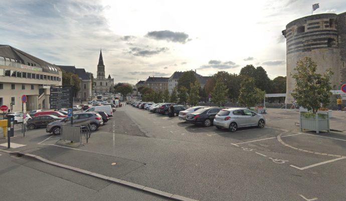 Les abords du château d'Angers réaménagés à l'horizon 2025
