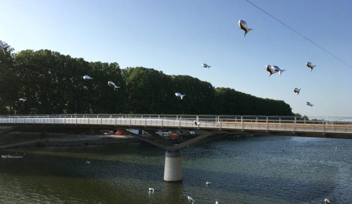 Fermeture du pont des Arts-et-Métiers du 2 au 5 juillet