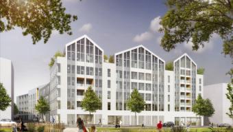 Cours Saint-Laud : le nouveau quartier d'affaires en voie d'achèvement