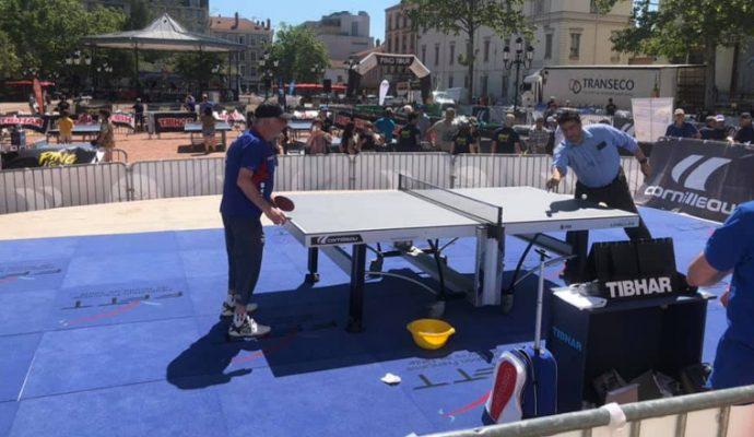 A la découverte du tennis de table avec le Ping Tour ce samedi 31 août