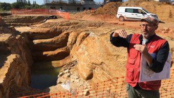 Un site gallo-romain découvert à Ecouflant