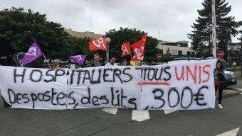 La mobilisation se poursuit au CHU d'Angers